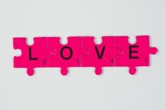 Miłości etykietka Zdjęcie Royalty Free