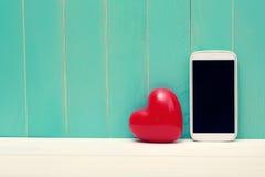 Miłości i technologii temat Obraz Royalty Free