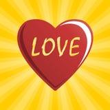 miłości kierowa czerwień Ilustracji