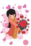 miłości kobieta Zdjęcie Stock