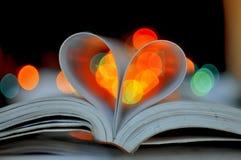 Miłości książka Zdjęcia Royalty Free