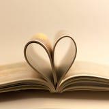 Miłości książka Obrazy Royalty Free