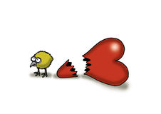 Miłości Kurczątko Zdjęcie Stock