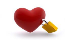 Miłości lockdown Obraz Royalty Free