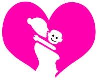 miłości mammy Obraz Royalty Free