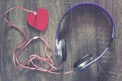 Miłości muzyki pojęcie Obraz Royalty Free