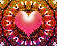 Miłości ogólnoludzki energetyczny mandala Fotografia Royalty Free