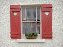 Miłości okno Zdjęcie Stock