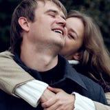 miłości para Zdjęcie Stock