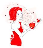 miłości perfumowanie Fotografia Royalty Free
