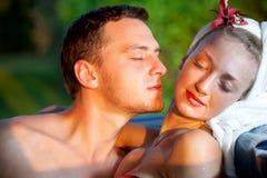 miłości perfumowanie Fotografia Stock