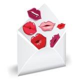 miłości poczta Zdjęcie Royalty Free