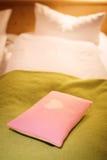 Miłości poduszka Obraz Royalty Free