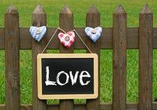 Miłości pojęcia wizerunek Fotografia Royalty Free