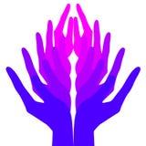 miłości pokoju duchowość Zdjęcia Royalty Free