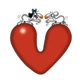 Miłości Przerwa Zdjęcie Stock