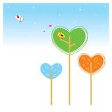miłości roślina Fotografia Stock