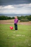 Miłości serca balon Obrazy Royalty Free