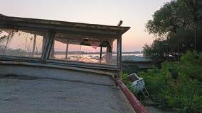 Miłości serca wschód słońca Zdjęcia Royalty Free