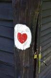 Miłości serce obraz stock