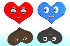 Miłości serce ilustracja wektor