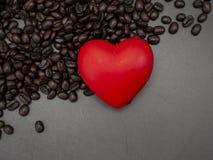 Miłości serce valentine&-x27; s dnia sztandaru tło obrazy stock