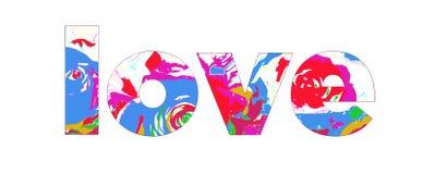 miłości siatki znaka wektor ilustracja wektor