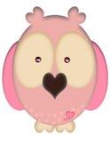 miłości sowa Obraz Stock
