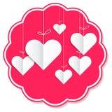 Miłości spowiednicza ilustracyjna pielucha Fotografia Royalty Free