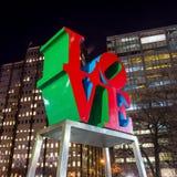 Miłości statua w miłość parku Fotografia Stock