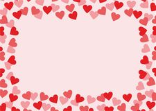 Miłości tło Zdjęcie Royalty Free