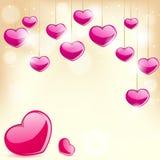 Miłości tło Ilustracja Wektor
