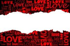 Miłości tło Obraz Royalty Free