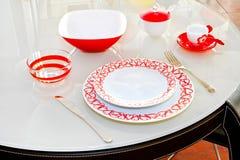 miłości tableware Obraz Royalty Free