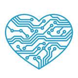 miłości technologia Obraz Stock