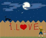 miłości valentine Zdjęcia Stock
