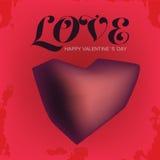 Miłości walentynki dzień Obrazy Royalty Free