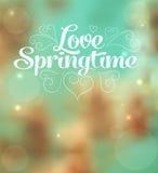 Miłości wiosna Zdjęcie Stock