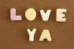 miłości ya Zdjęcie Stock
