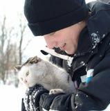 miłości zima zdjęcia royalty free