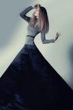 miłościwa chuderlawa wysoka kobieta Fotografia Stock