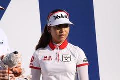 Mi阿那启发高尔夫球比赛的Hyang李2015年 免版税库存图片
