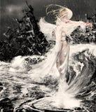 Mi ángel también Imagen de archivo libre de regalías