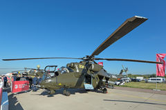 Mi-35 ελικόπτερο Στοκ εικόνα με δικαίωμα ελεύθερης χρήσης