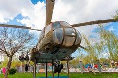 Mi-8 στο πάρκο πόλεων της πόλης Krasnodar Στοκ Εικόνες
