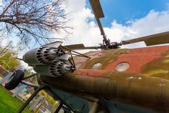 Mi-8 στο πάρκο πόλεων της πόλης Krasnodar Στοκ φωτογραφία με δικαίωμα ελεύθερης χρήσης