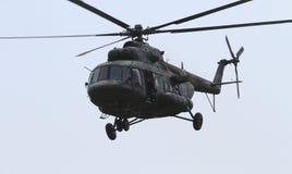 MI 17直升机 图库摄影