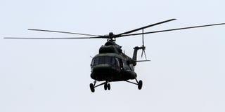 MI 17直升机 库存照片