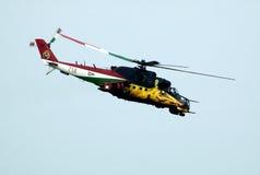MI-24 ΟΠΙΣΘΙΟΣ Στοκ Φωτογραφίες