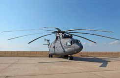 MI-26直升机 免版税库存照片